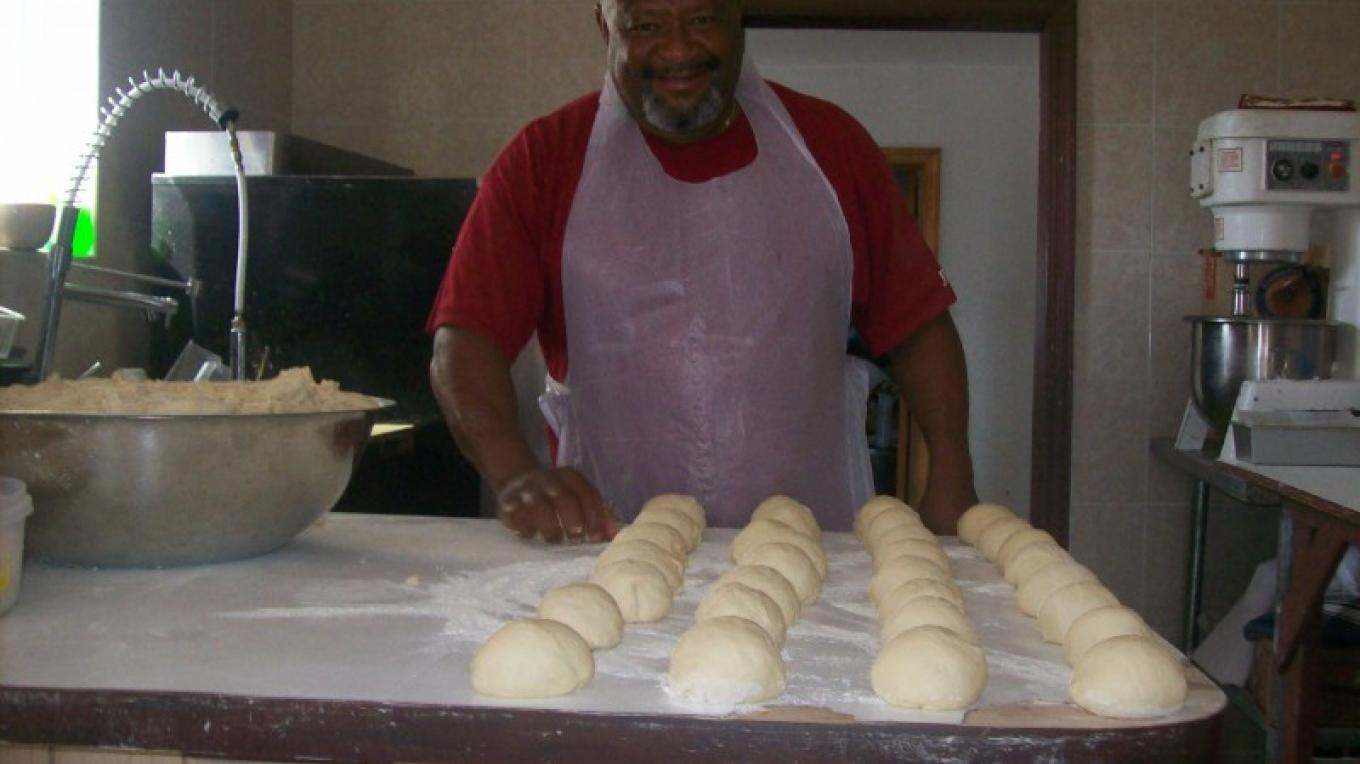 Making Dough Rolls for Coconut Rolls – undefined
