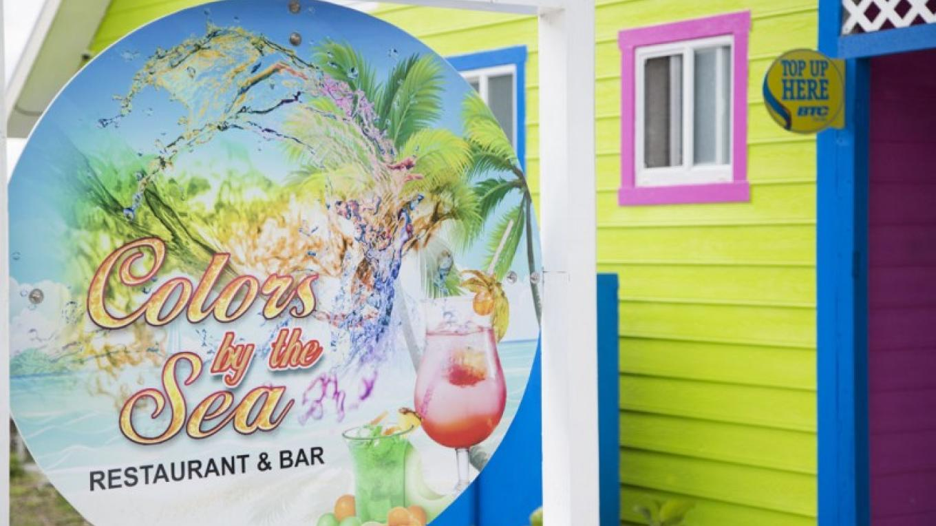 Colors by the Sea Restaurant & Bar, located on the Tourist Strip in Marsh Harbour – Bahamas Ministry of Tourism