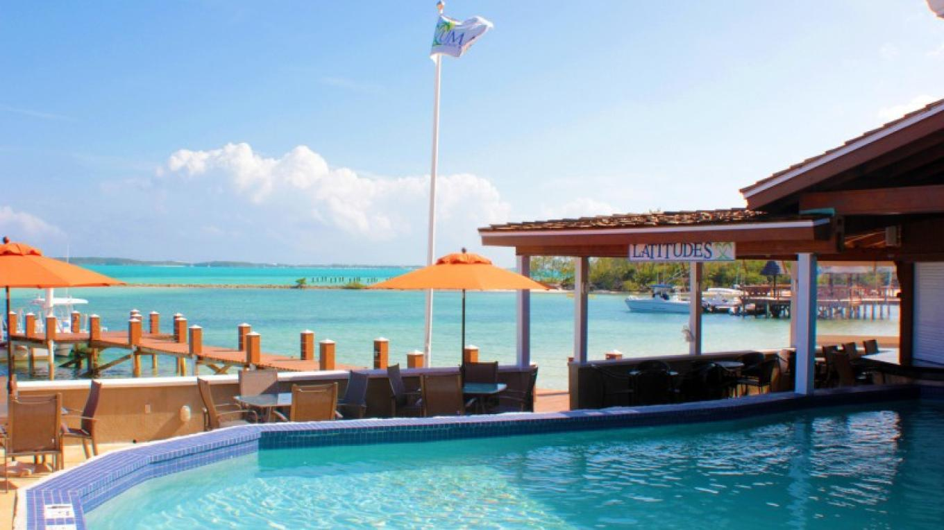 Pool, Dock, and Latitudes Bar and Grill – Sarah Swainson