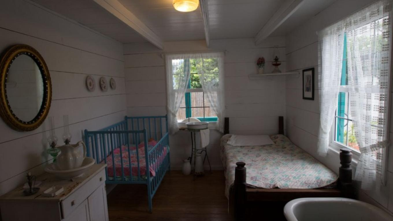 An historical bedroom inside the Wyannie Malone Historical Museum – Bahamas Ministry of Tourism