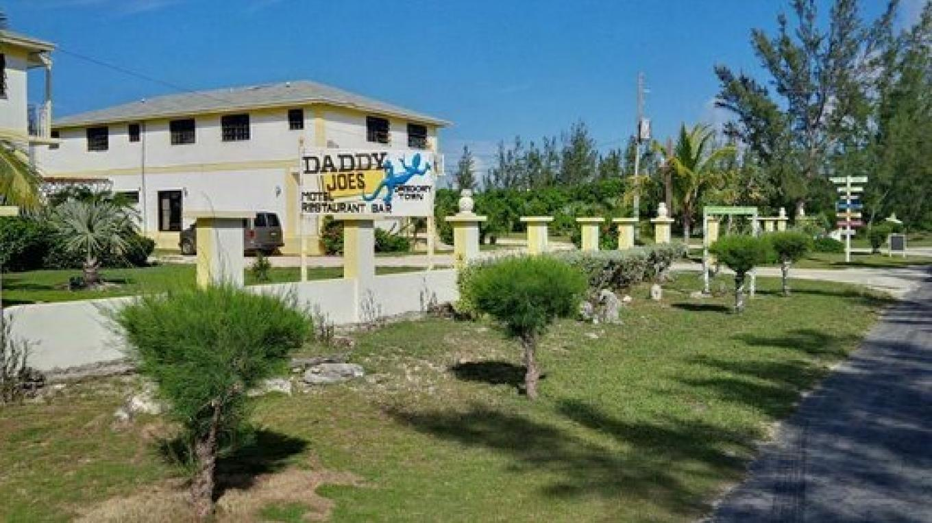 View of Daddy Joe's Hotel coming from North – tripadvisor