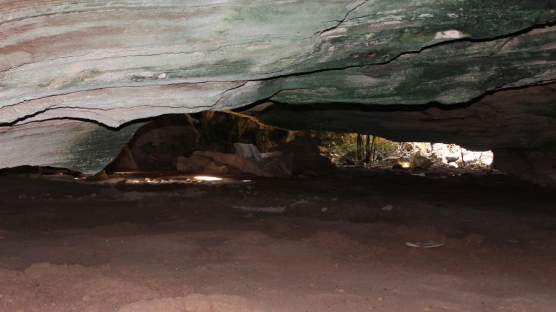Inside Salina Point Cave – Patricka Ferguson, Yahaka Island Tours