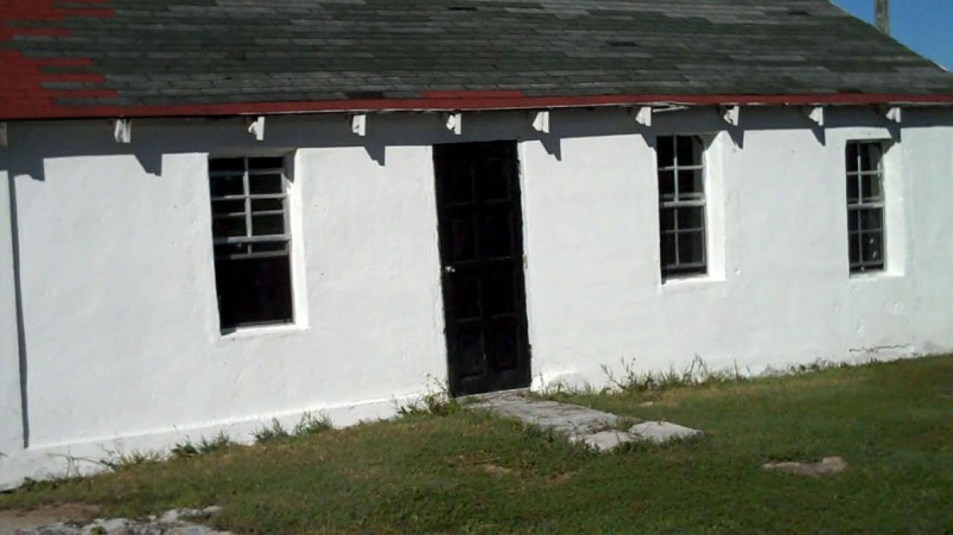 Front entrance of Zion Baptist Church in Betsy Bay, Mayaguana, The Bahamas. – Bahamas Ministry of Tourism