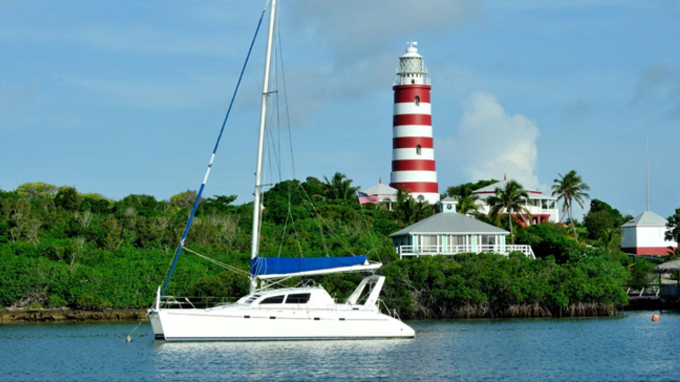 The Candy-striped Elbow Reef Lighthouse on Elbow Cay – Bahamas Ministry of Tourism