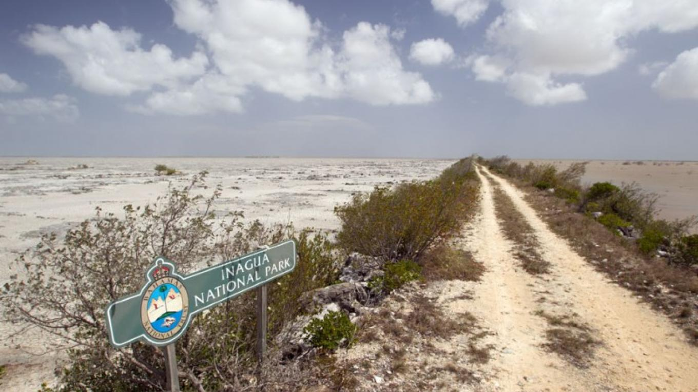 Road leading into the Inagua National Park. – Bahamas Ministry of Tourism