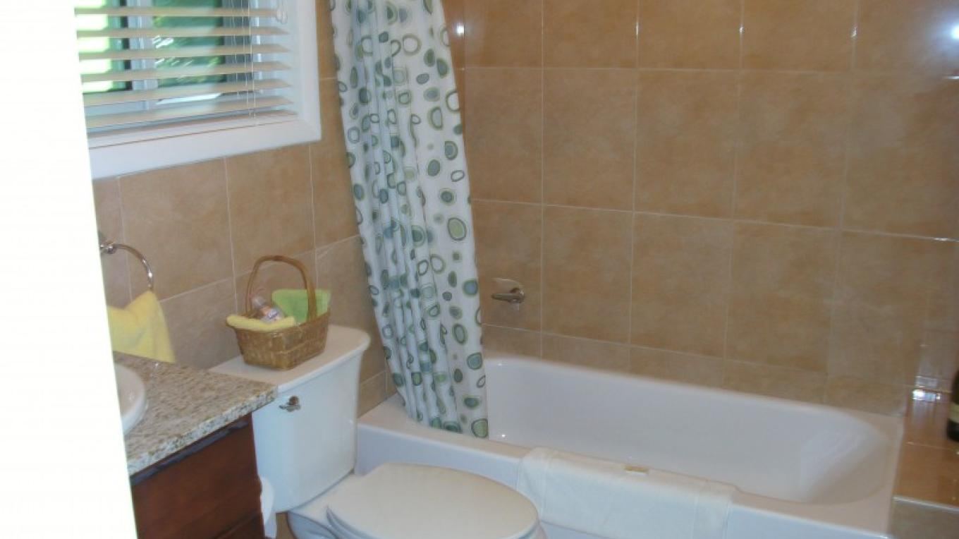 Bathroom - Sunflower Suite (1 bedroom/1 bath)