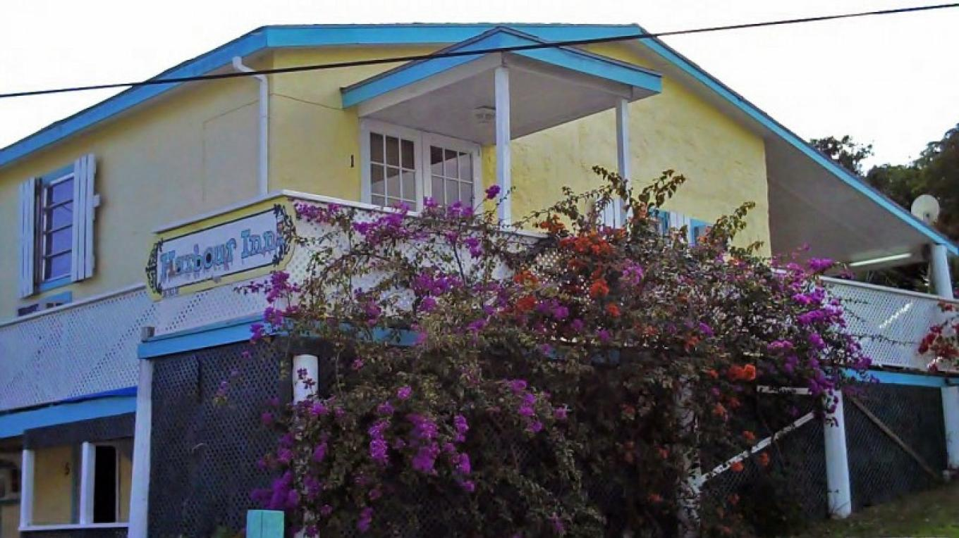Front view of Harbour Inn Guest House – Bahamas Ministry of Tourism