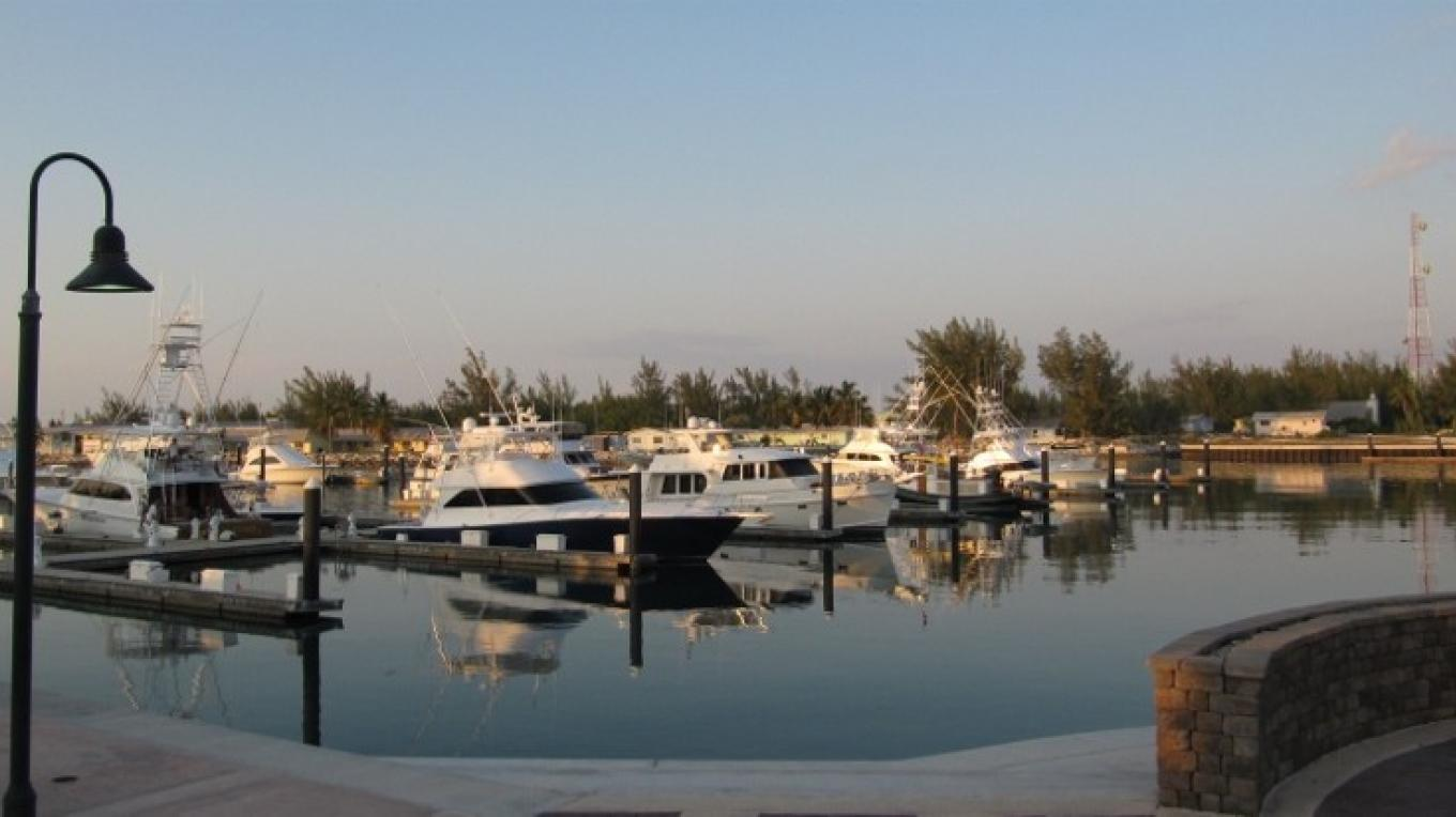 Boats in the Marina – Chub Cay Club