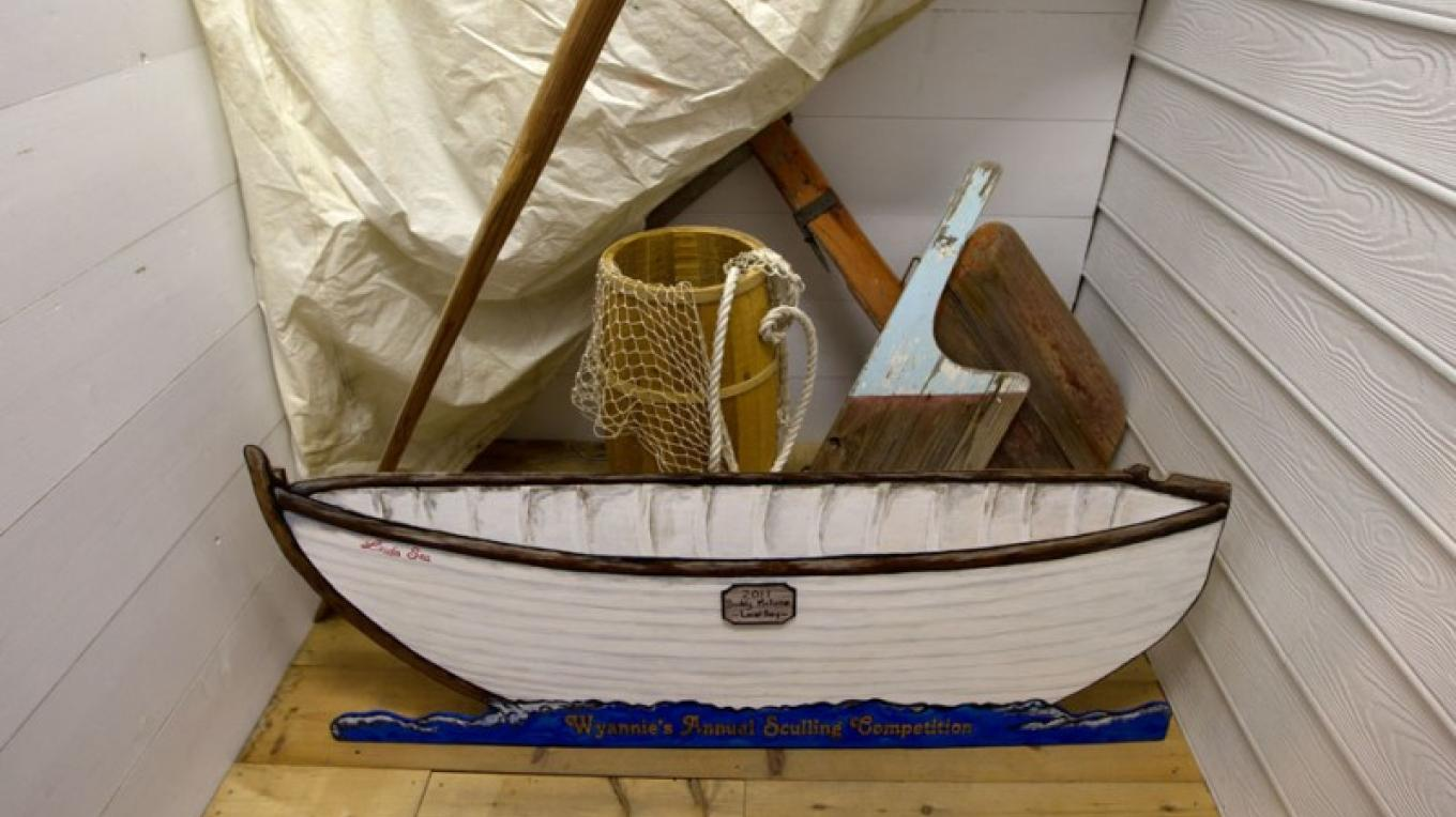 Miniature boat inside the Wyannie Malone Historical Museum – Bahamas Ministry of Tourism