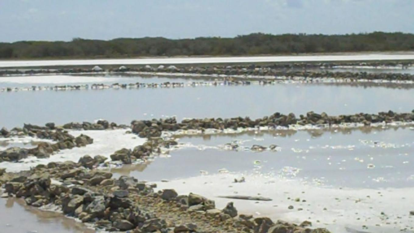 The Salt Ponds in Duncan Town – Administrator's Office-Ragged Island