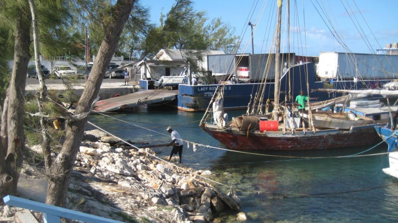 The Government Dock/Marina in Matthew Town, Inagua – George Harris, Coast FM Radio