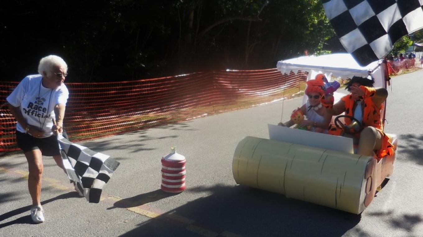 Winner at the Hope Town Box Cart Derby. – Dave Ralph