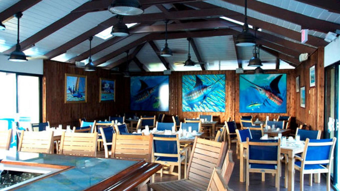 Inside Big Game restaurants – Bimini Big Game