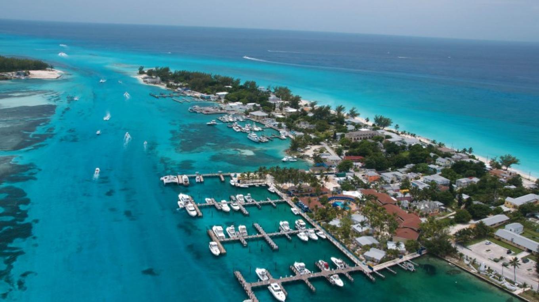 Aerial shot of Bimini Big Game Club Resort & Marina – Bimini Big Game Club Resort & Marina