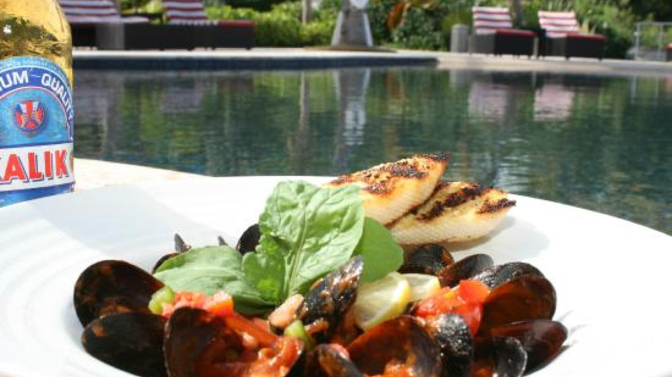 A delicious meal at Pascal's Oceanfront – tripadvisor
