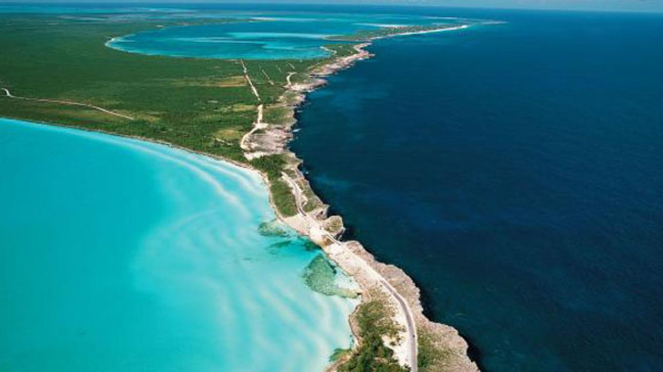 The Glass Window Bridge - Gregory Town, Central Eleuthera – Bahamas Ministry of Tourism