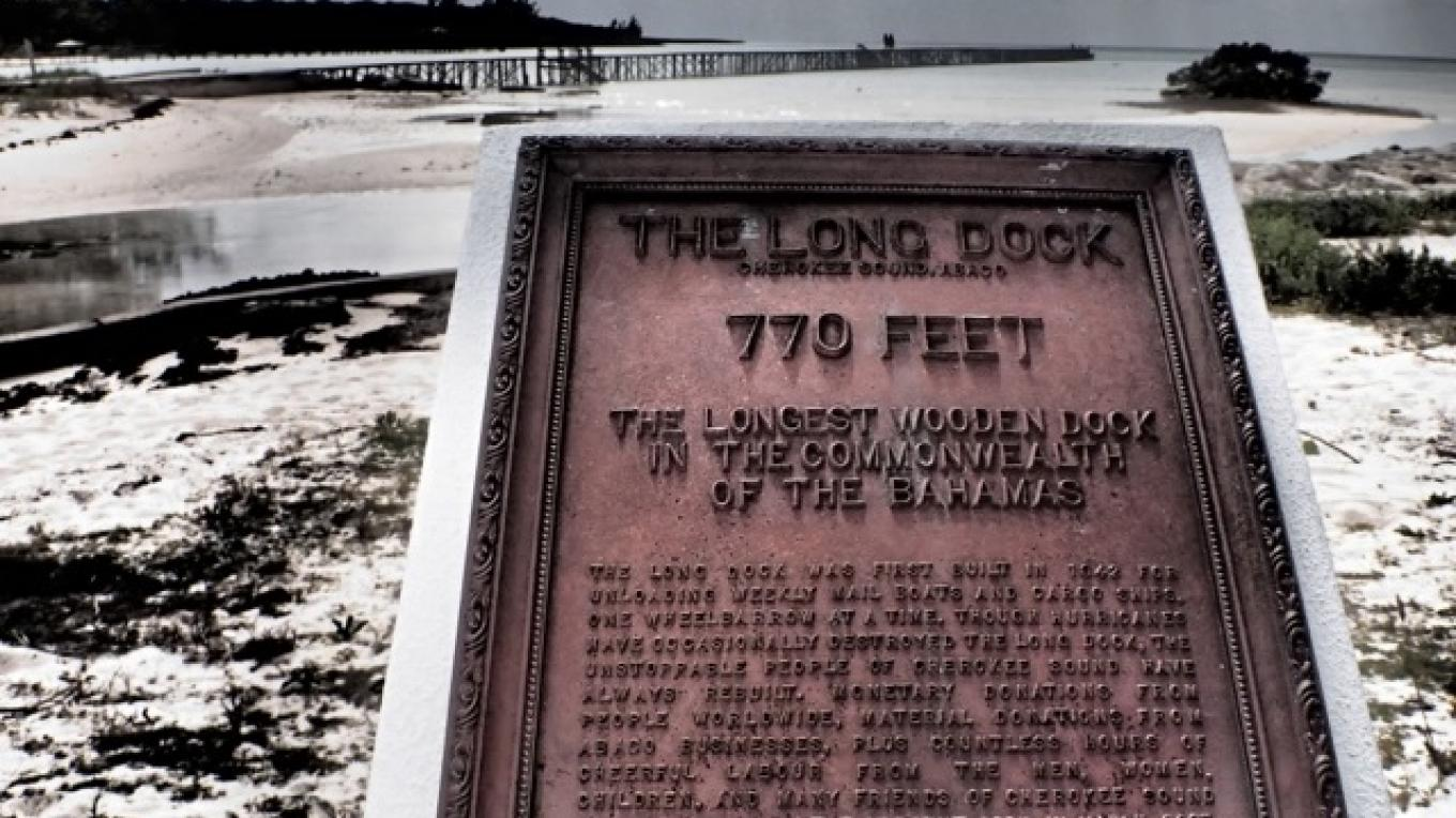 Plaque at The Long Dock