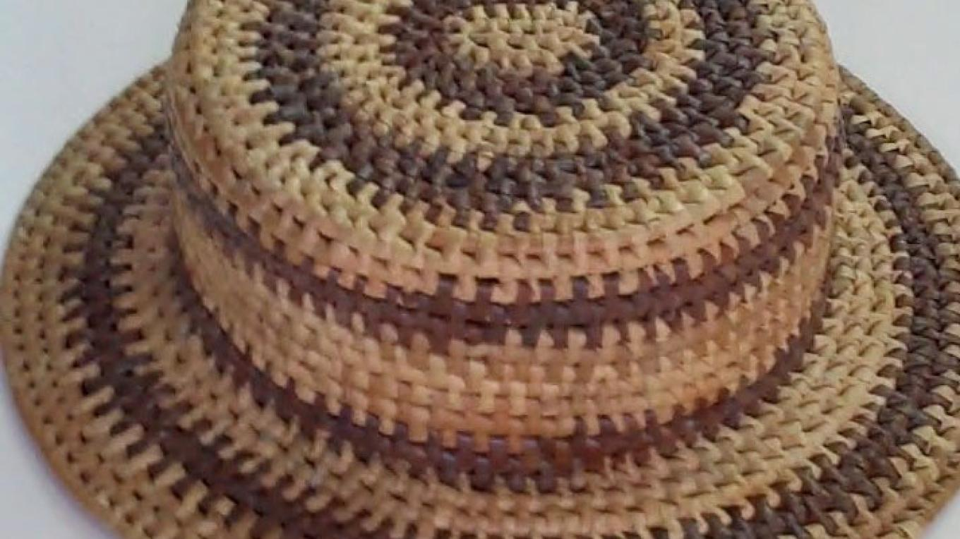 Straw Hat by Shaneka Murphy of Betsy Bay, Mayaguana – Bahamas Ministry of Tourism