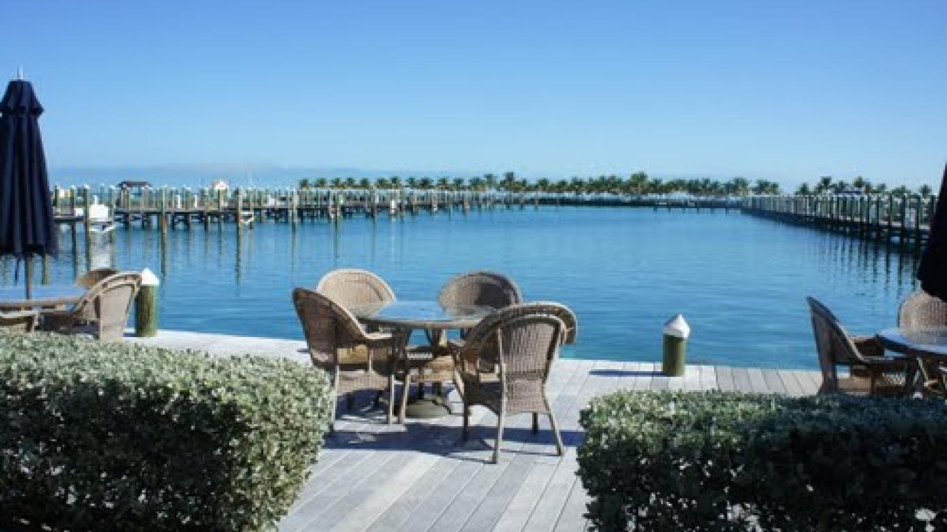 Cat Cay Bimini Dock area – Cat Cay Yacht Club