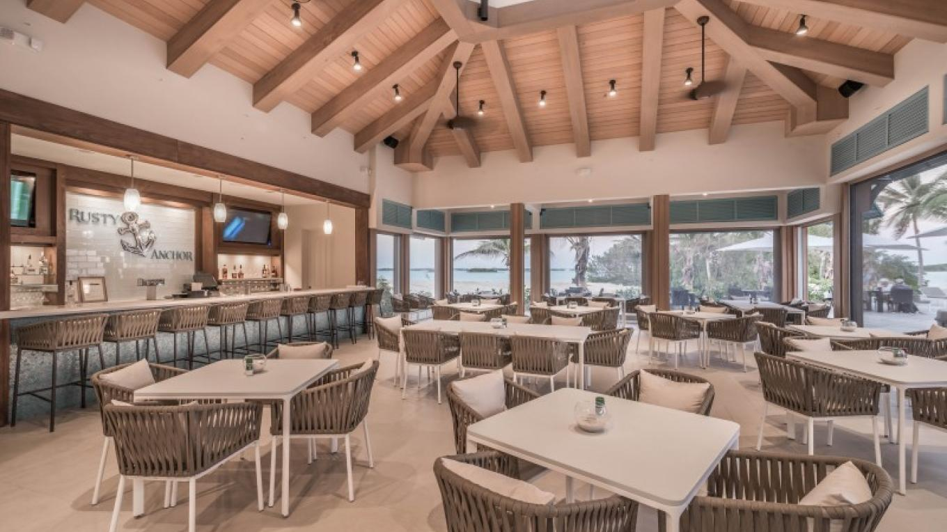 A view of inside the restaurant at February Point Resort – February Point Resort