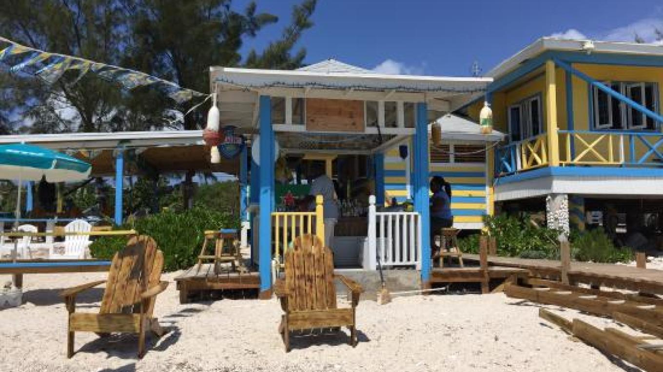 View of LeoRose Sunset Beach Bar & Grill from the beach – tripadvisor