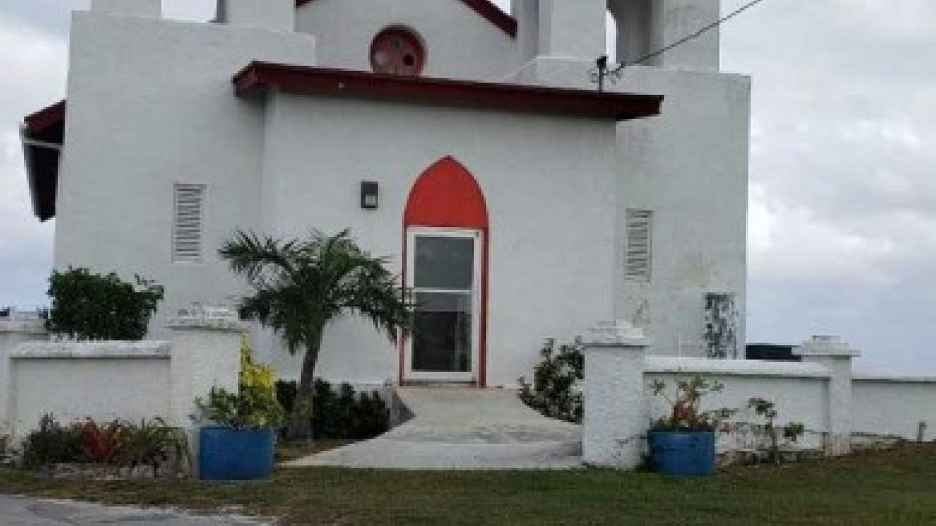 St. Paul's Anglican Church with a fresh coat of paint! – Ms. Dawn Simmons