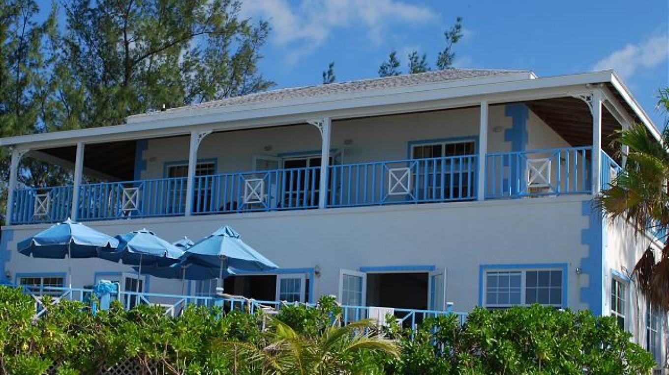 Outside view of the main house – Eleuthera Vacation Rentals