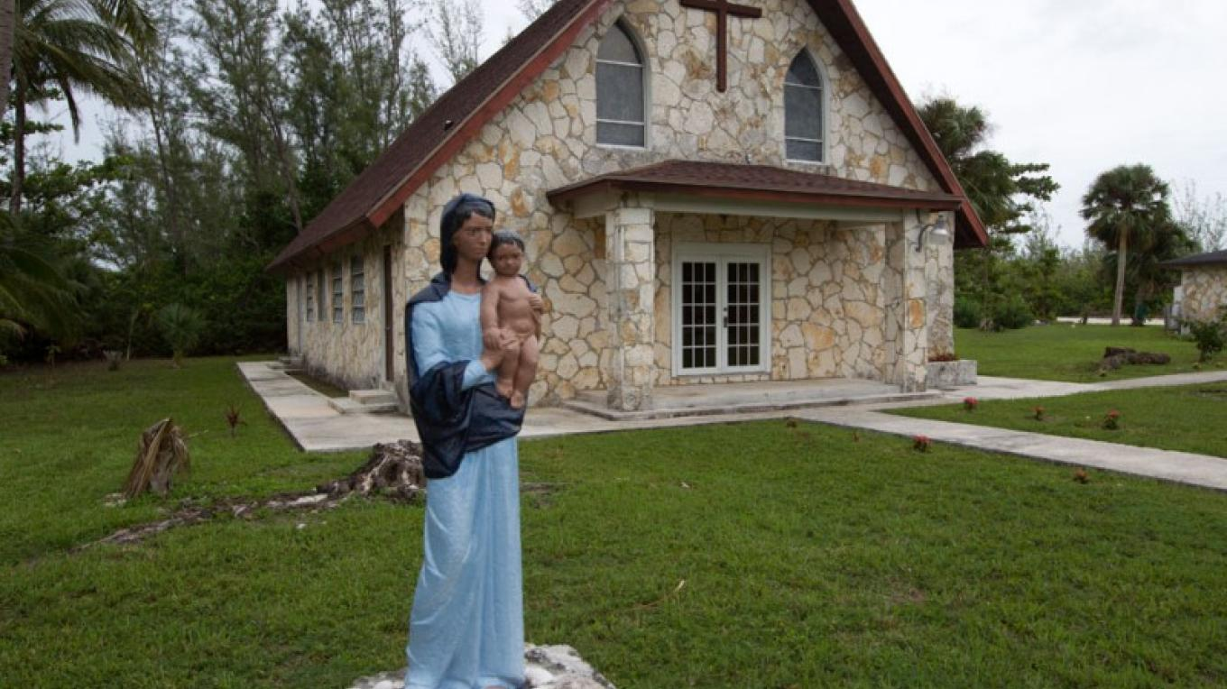 St. Marcy & St. Andrew Catholic Church in Treasure Cay – Bahamas Ministry of Tourism