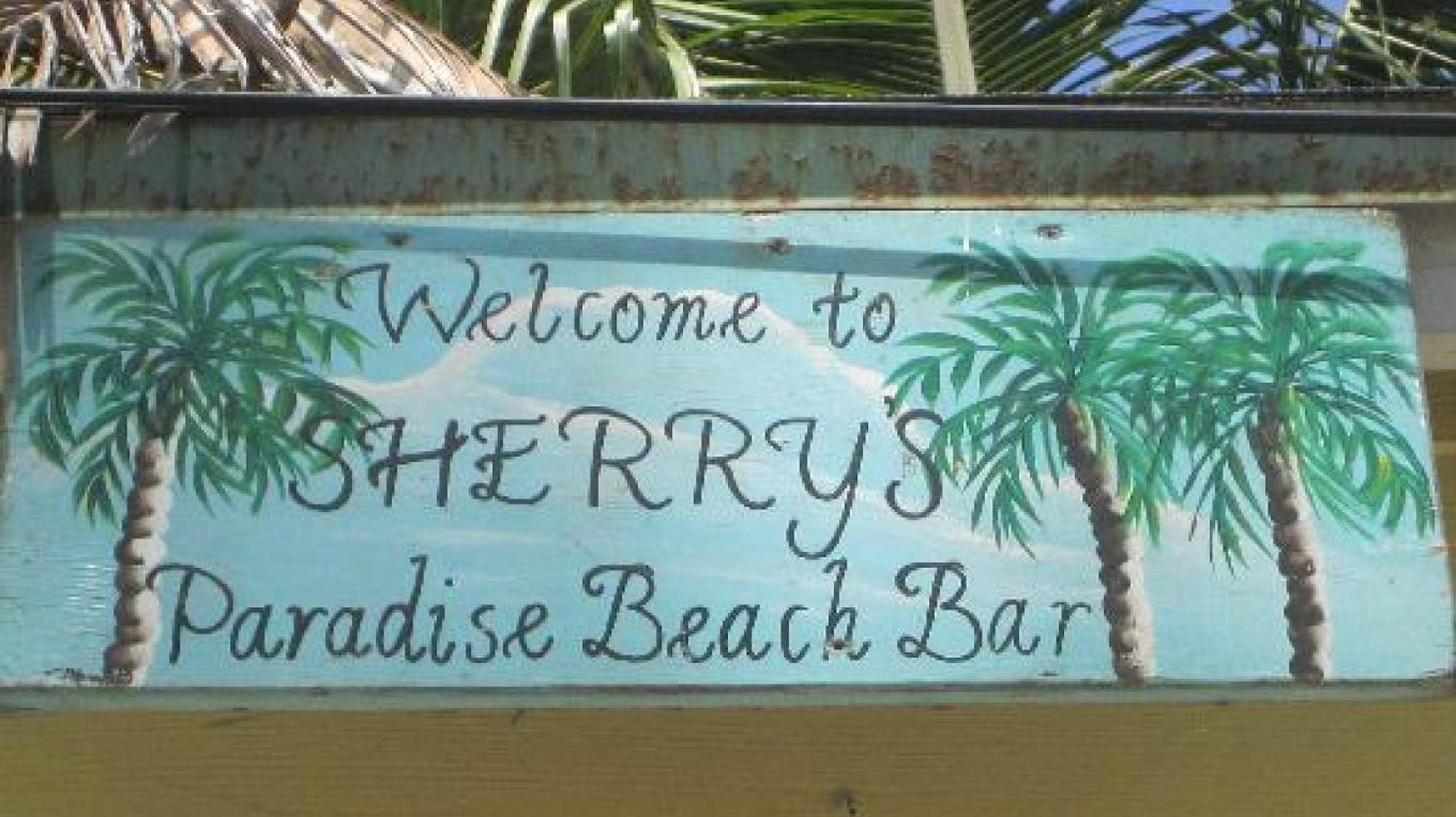 Sherry's Sign – Sherry's Paradise