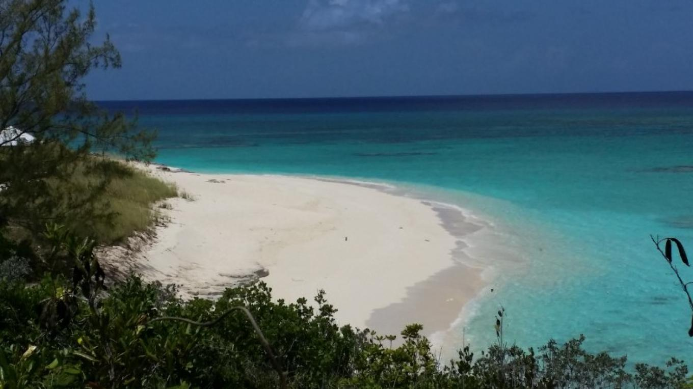 Grotto Beach located in Sandy Point, great for Picnics and private functions. – jmj