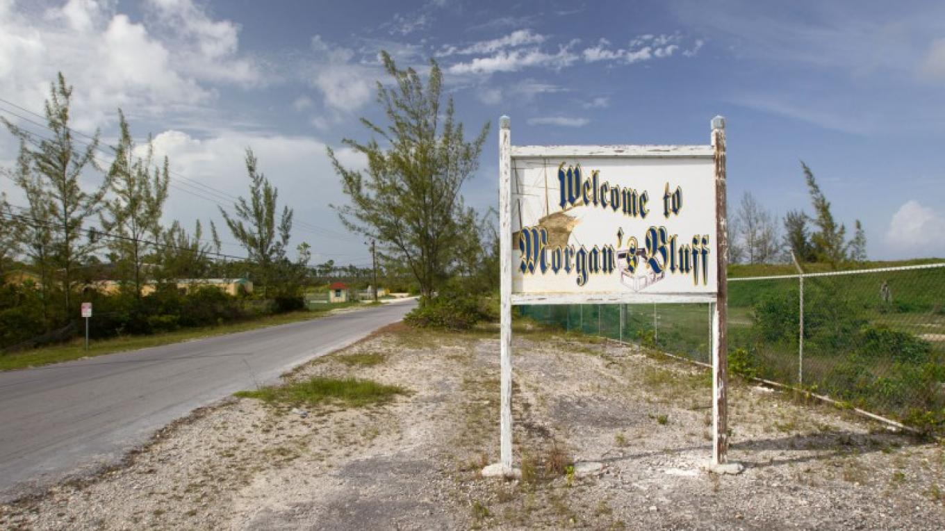 Sign at Entrance to Morgan's Bluff Settlement – Bahamas Ministry of Tourism