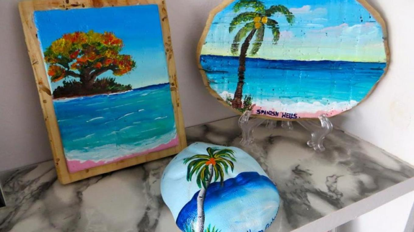 Bahamian paintings – Ponderosa Shell & Gift Shop