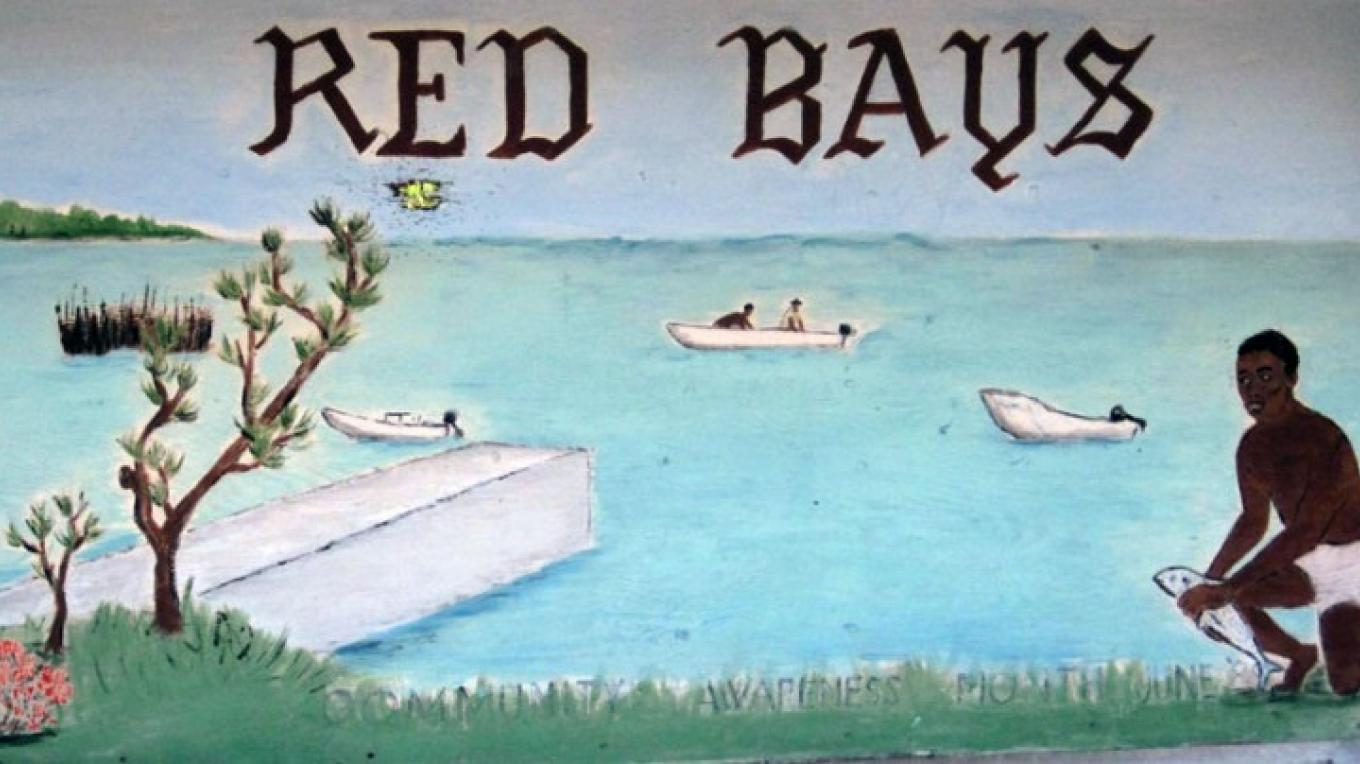 Sign at Entrance to Red Bays Village – Bahamas Ministry of Tourism