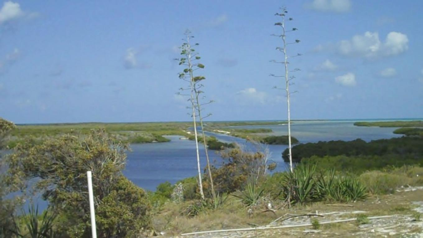 Hilltop in Duncan Town overlooking the creek – Administrator's Office-Ragged Island