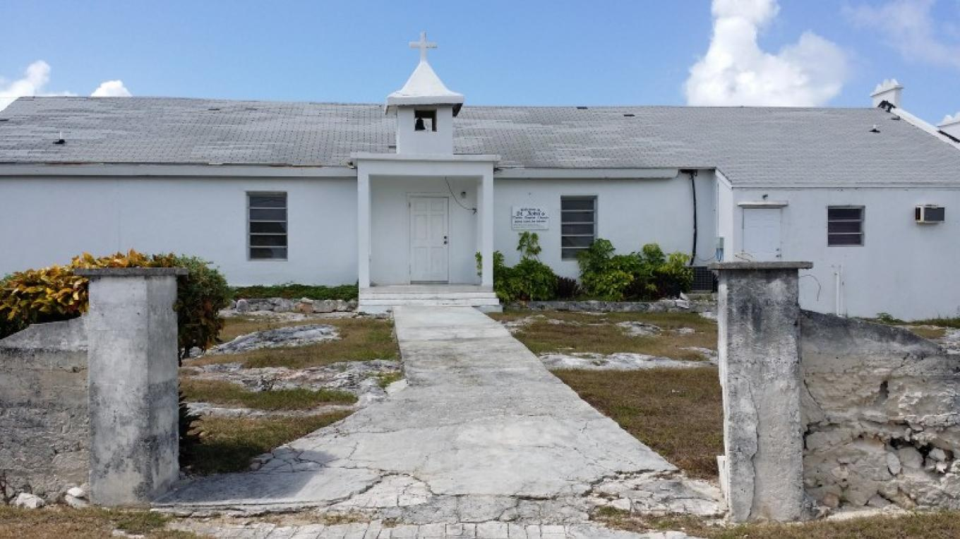 One of the oldest churches on the Island St. John Native Baptist church is located in United Estates on Joshua Storr Hill. – JMJ