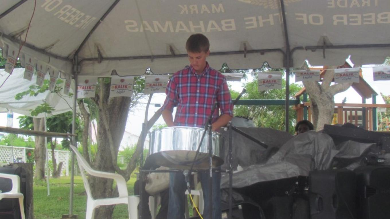 Local Entertainment- Steel Drummer Mr. Kevin Symonette – Franklyn & Lydia Burrows
