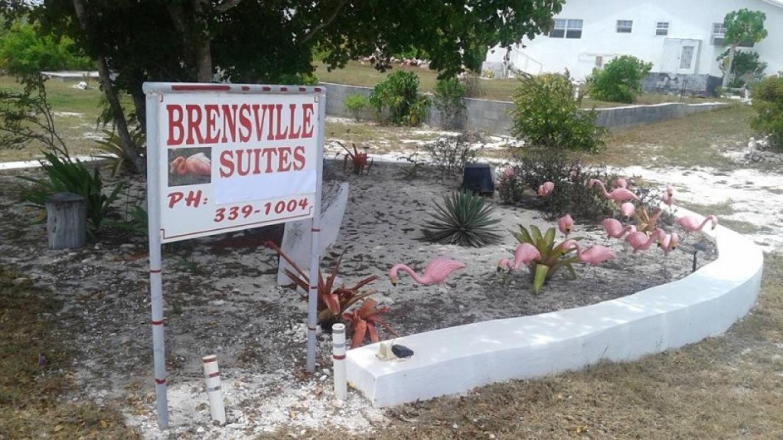 Entrance sign to BrensVille Suites – BrensVille Suites