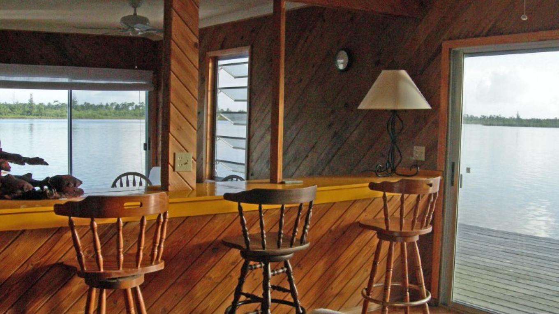 Bar stools with surround views – Gabrielle Douglas