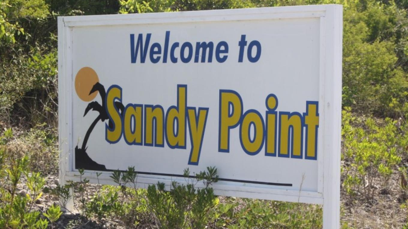 Sign at entrance into Sandy Point – SSM