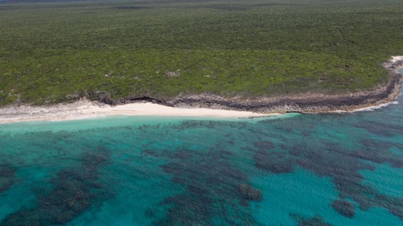 An aerial view of Hartford Cave – Bahamas Ministry of Tourism