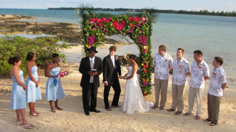 Wedding at Small Hope Bay Lodge – Small Hope Bay Lodge