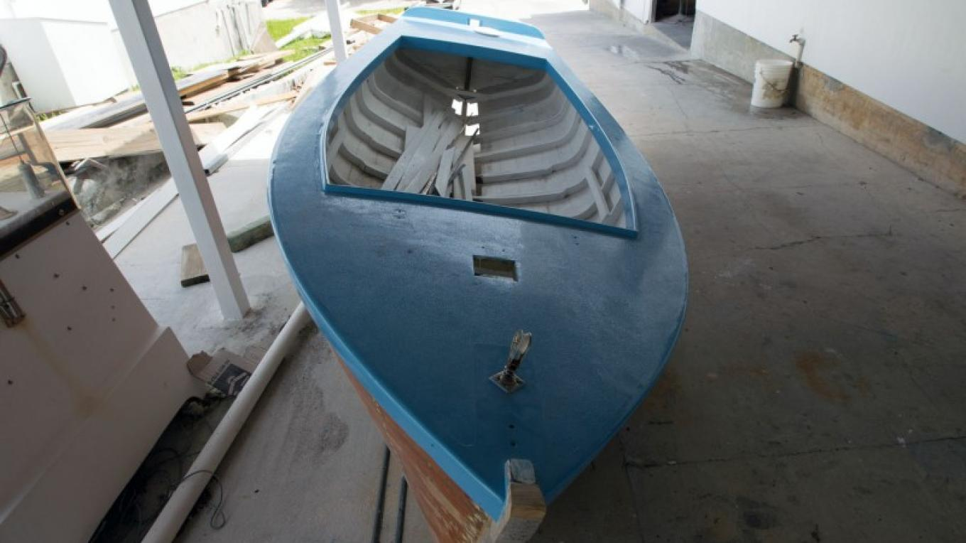 One of the Albury brothers' boats – Bahamas Ministry of Tourism