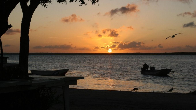 Pirate's Well Beach at Sunset – Mayaguana Administrator's Office
