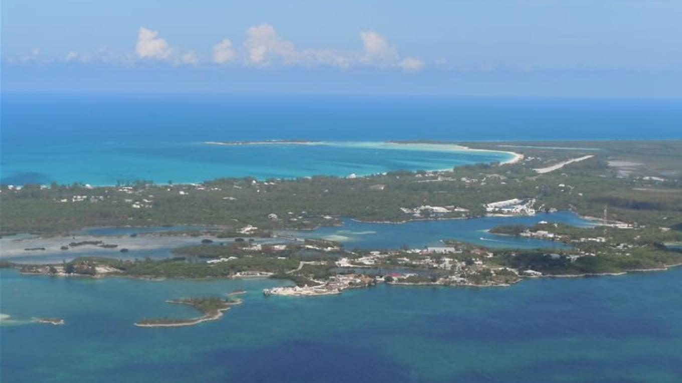 Aerial View of Great Harbour Cay – Hans Febles