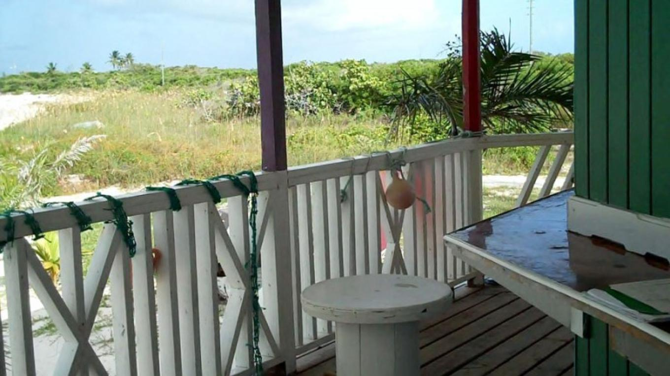 View from the back porch at Mel's on Da Bay Restaurant, Pirate's Well, Mayaguana, The Bahamas – Bahamas Ministry of Tourism
