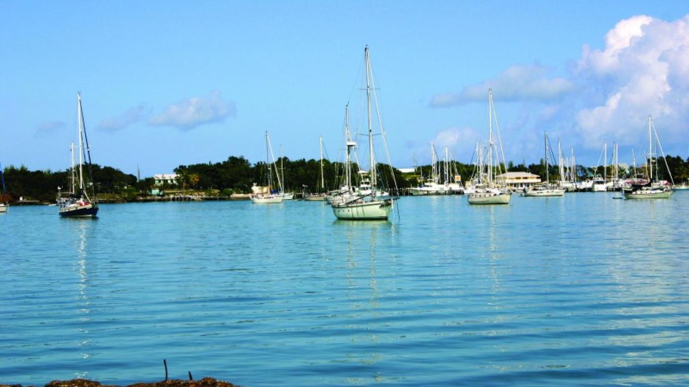 The waterfront in Marsh Harbour – Photo by Destination Abaco