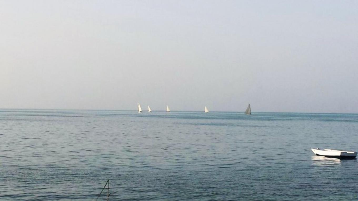 Boats racing in the regatta. – Mayaguana District Council