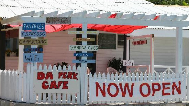 View from the outside of Da Perk Cafe – tripadvisor