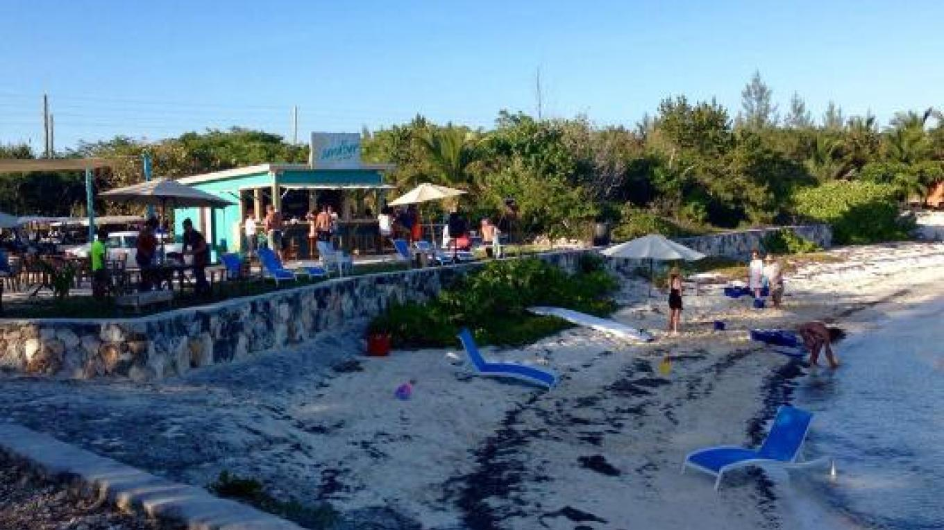 View from the beach of the Sandbar – tripadvisor