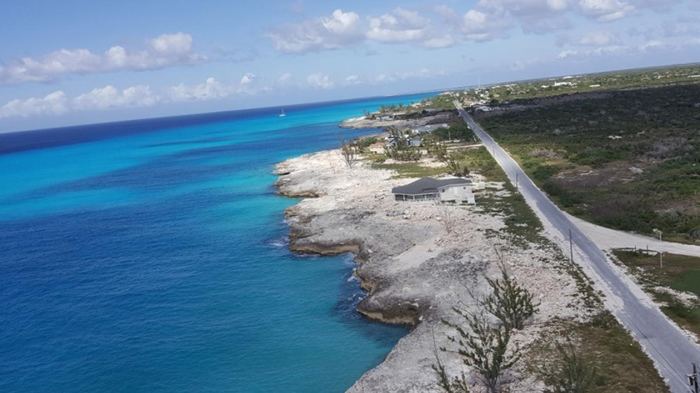 View of the town from inside Great Inagua Lighthouse – Bahamas Ministry of Tourism